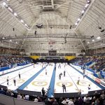 Action at the 2019 Players' Championship at Ryerson's Mattamy Athletic Centre in Toronto.