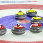 Rocks and rings from the Scotties Tournament of Hearts.